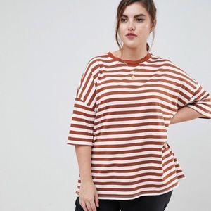 ASOS DESIGN Curve t-shirt in super oversized fit